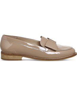 Present Bow Patent Leather Loafers