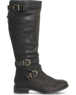 Kara Leather Knee-high Boots