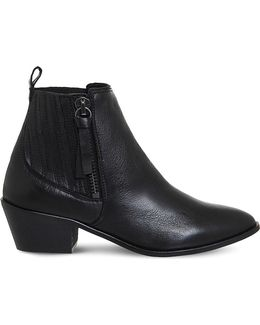 Luca Leather Western Boots
