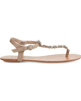 Sweetie Pie Embellished Sandals