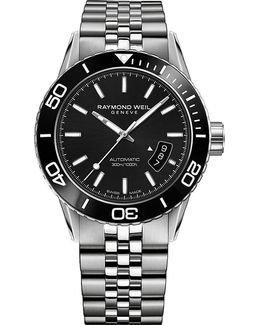2760st120001 Freelancer Diver Automatic Stainless Steel Watch