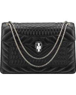 Serpenti Forever Calf-leather Shoulder Bag
