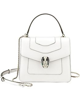 Serpenti Forever Leather Bag