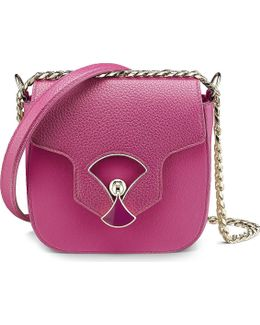 Diva's Dream Calf-leather Flap Shoulder Bag