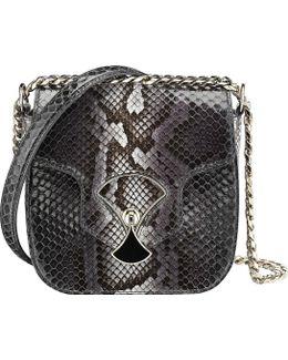 Diva's Dream Python-skin Shoulder Bag
