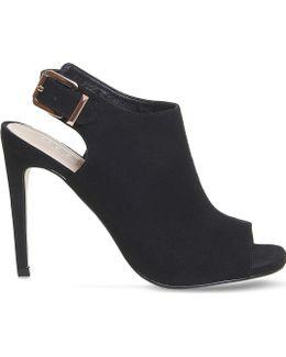 Heist Peep Toe Stiletto Heel Boots