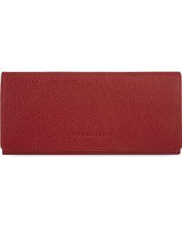 Le Foulonne Long Leather Continental Purse