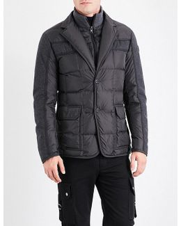 Ardenne Quilted Shell Down Jacket