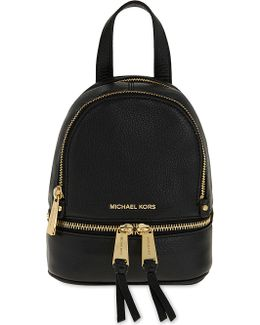 Rhea Extra-small Leather Backpack