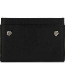 Arena Leather Card Holder