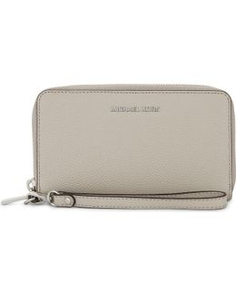 Mercer Large Grained Leather Multi-function Wallet
