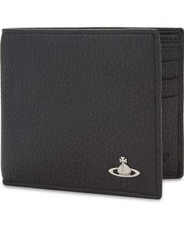 Milano Grained Leather Billfold Wallet