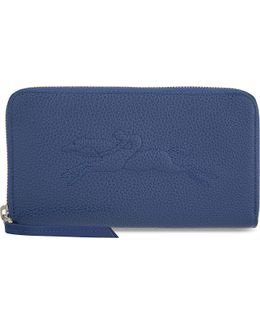 Le Foulonné Leather Zip-around Wallet