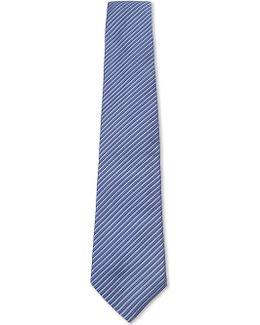 Silk Striped Tie