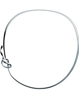 Forget-me-knot Sterling Silver Neck Ring