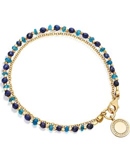 18ct Yellow Gold-plated And Diamond Cosmos Biography Bracelet