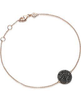 Icon 14ct Rose Gold And Diamond Bracelet