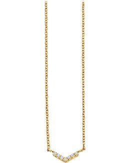 Varro Honeycomb Diamond And Yellow-gold Pendant
