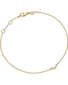 Varro Honeycomb Diamond And Yellow-gold Bracelet
