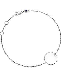 Cosmos Disc Sterling Silver Bracelet