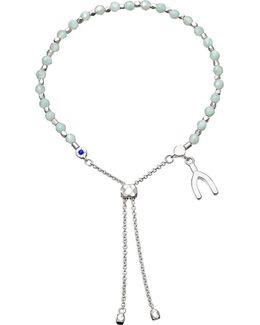 Wishbone Kula Sterling Silver Friendship Bracelet