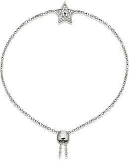 Mini Star Kula Sterling Silver And Sapphire Bracelet