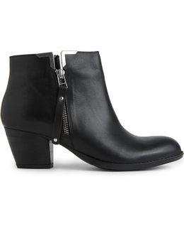 Scampy Leather Ankle Boots