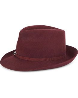 Falabella Chain-detail Wool Hat