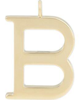 Alphabet B Pendant