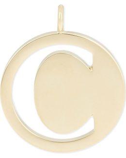 Alphabet C Pendant