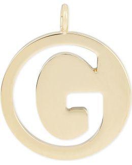 Alphabet G Pendant