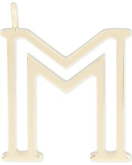 Alphabet M Pendant
