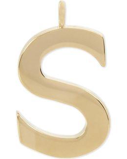Alphabet S Pendant