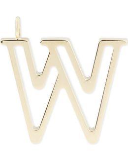 Alphabet W Pendant