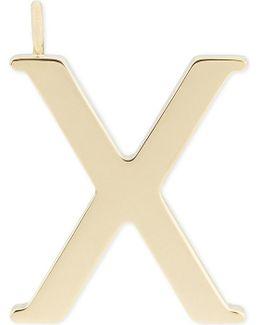 Alphabet X Pendant