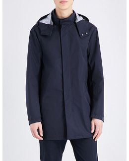 Two-way Zip Hooded Parka