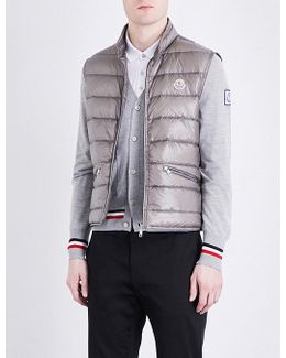 Quilted Down-filled Shell Gilet