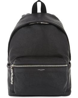 City Mini Leather Backpack