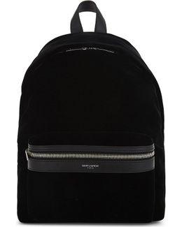 Mini City Velvet Backpack