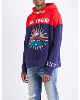 Hollywood Ufo Cotton-jersey Hoody