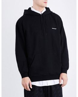 Logo-embroidered Cotton-jersey Hoody