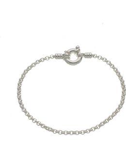 Mini Belcher Sterling Silver Bracelet