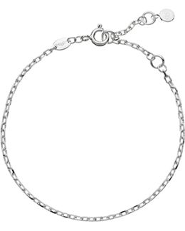 Cable Sterling-silver Bracelet
