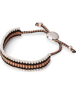 Friendship Bracelet Black And Copper