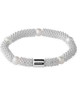 Effervescence Star Sterling Silver Pearl Bracelet