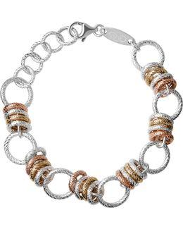 Aurora Sterling Silver Large Link Bracelet