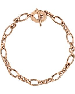 Signature 18ct Rose Gold Charm Bracelet