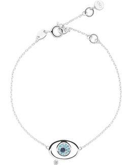 Evil Eye Sterling-silver Bracelet