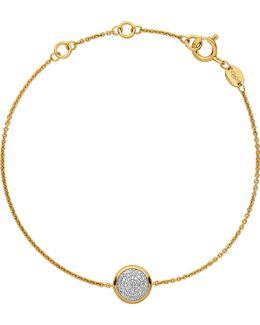 Diamond Essentials Gold-plated Diamond Bracelet