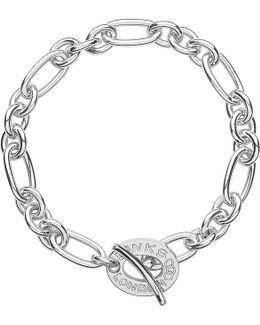 Signature Sterling Silver Charm Bracelet